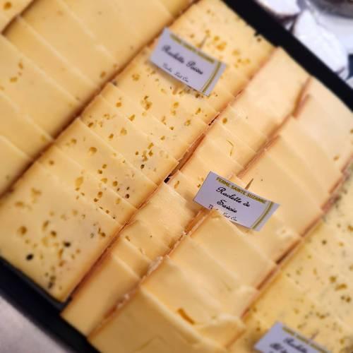 Plateau de raclette au lait cru 250g par personne