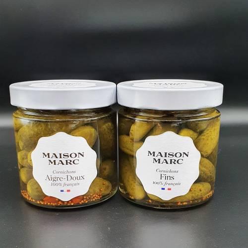 Cornichons Fins Maison Marc