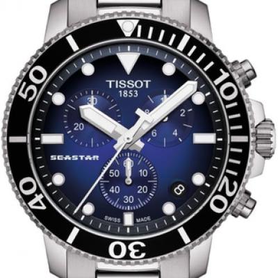 Montre TISSOT Seastar 1000 Chronograph quartz