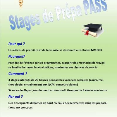 Stages de prépa PASS