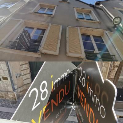 #28immo @28immo Chartres Grand T2 de 55m² 118000€