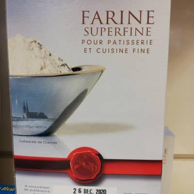 Farine T45 superfine 1kg