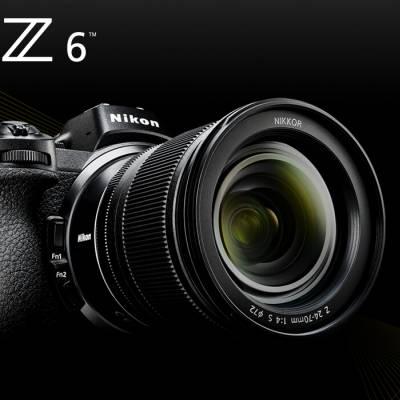 Nikon Z6 avec 24-70mm f/4 s