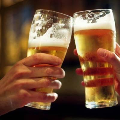 Bières pression et bouteille