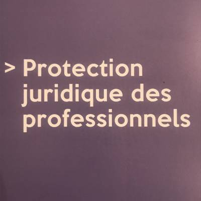 Protection juridique des professionnels