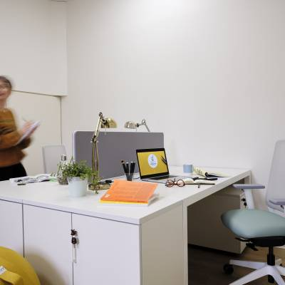 bureaux partagés de 3 postes