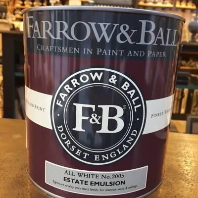 Peinture F&B - Estate Emulsion - 132 Couleurs 2.5 L / 5 L
