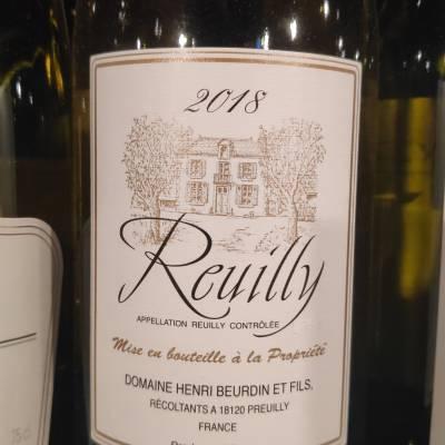 Reuilly blanc Beurdin 10€