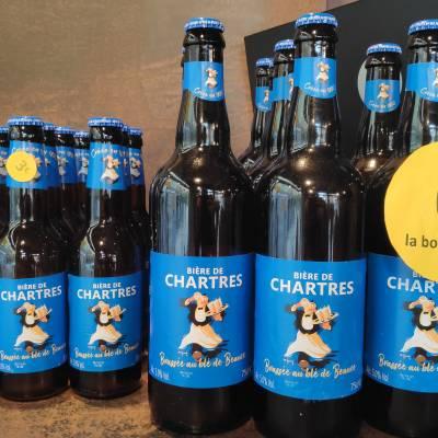 Bières de Chartres 3€ unité 33Cl 6€ unité 75Cl