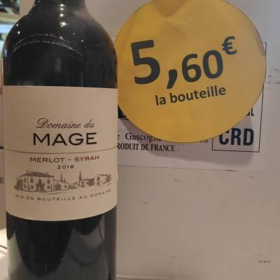 Domaine du Mage, Gascogne Rouge 5,60€