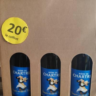 Coffret 3 grandes bières de Chartres 20€