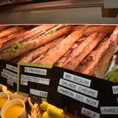 Nos sandwichs