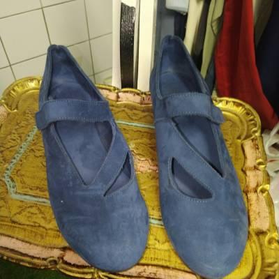Ballerines Arche bleues pointure 38.5. 10€