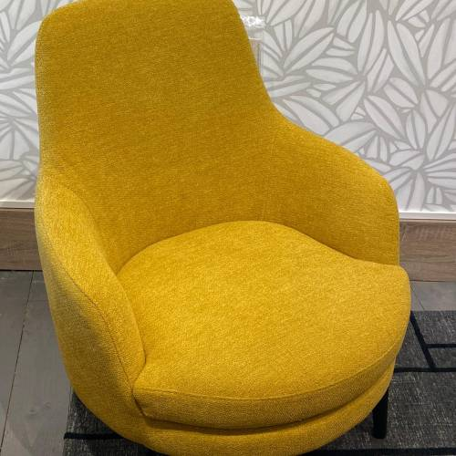 fauteuil Calligaris jaune