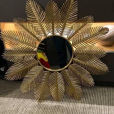 miroir feuilles