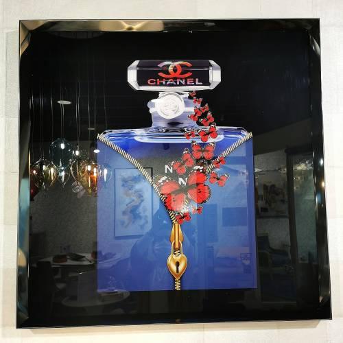 Tableau flacon de parfum Chanel