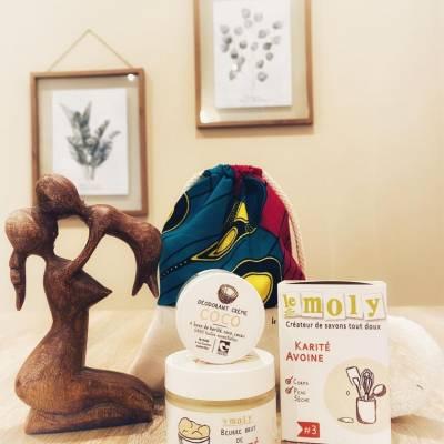 Le Moly Savons à froid, déodorants crèmes et beurre de karité