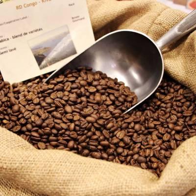 Café fraichement torréfié